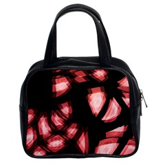Red light Classic Handbags (2 Sides)