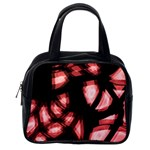 Red light Classic Handbags (2 Sides) Back