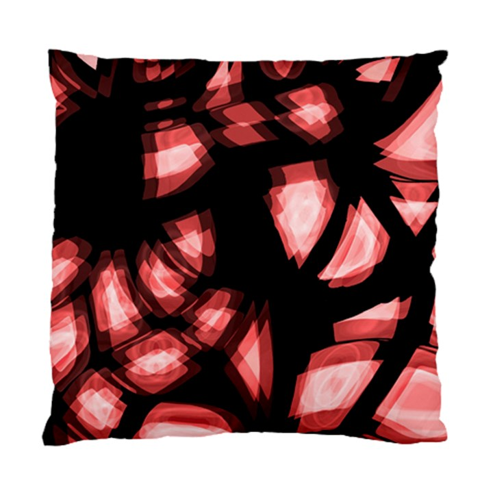 Red light Standard Cushion Case (One Side)