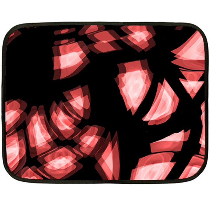 Red light Double Sided Fleece Blanket (Mini)