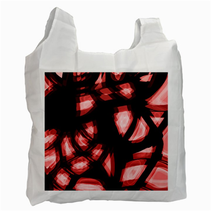Red light Recycle Bag (One Side)