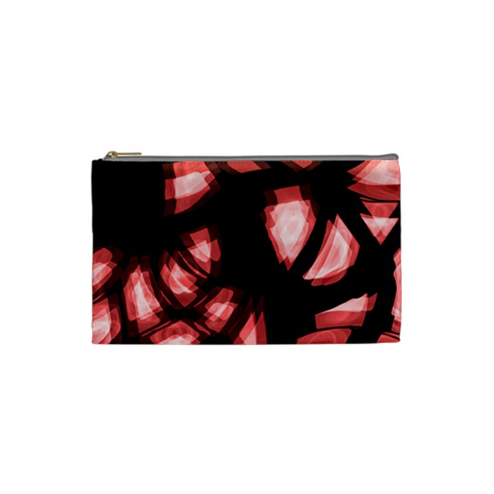 Red light Cosmetic Bag (Small)