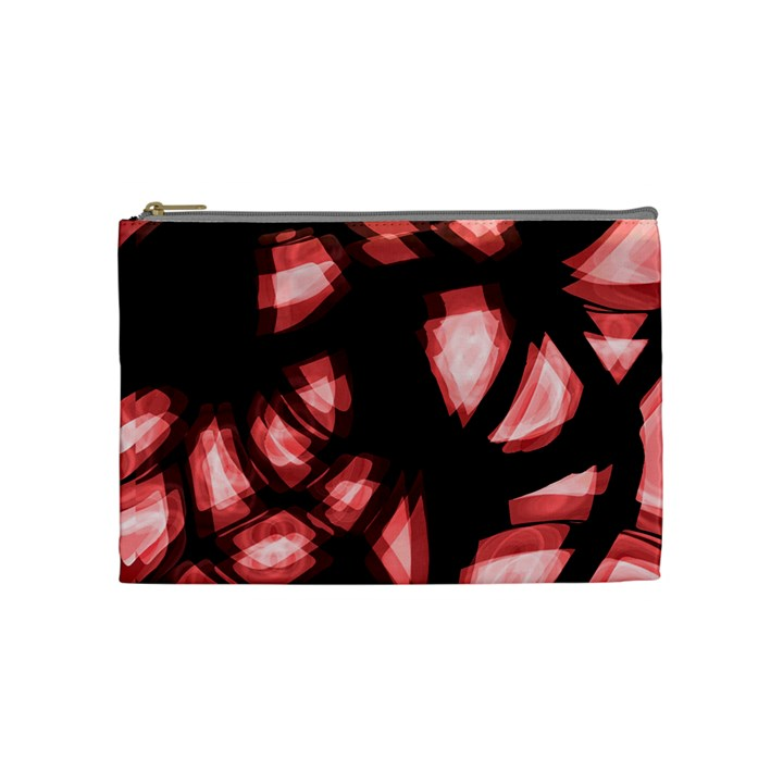 Red light Cosmetic Bag (Medium)