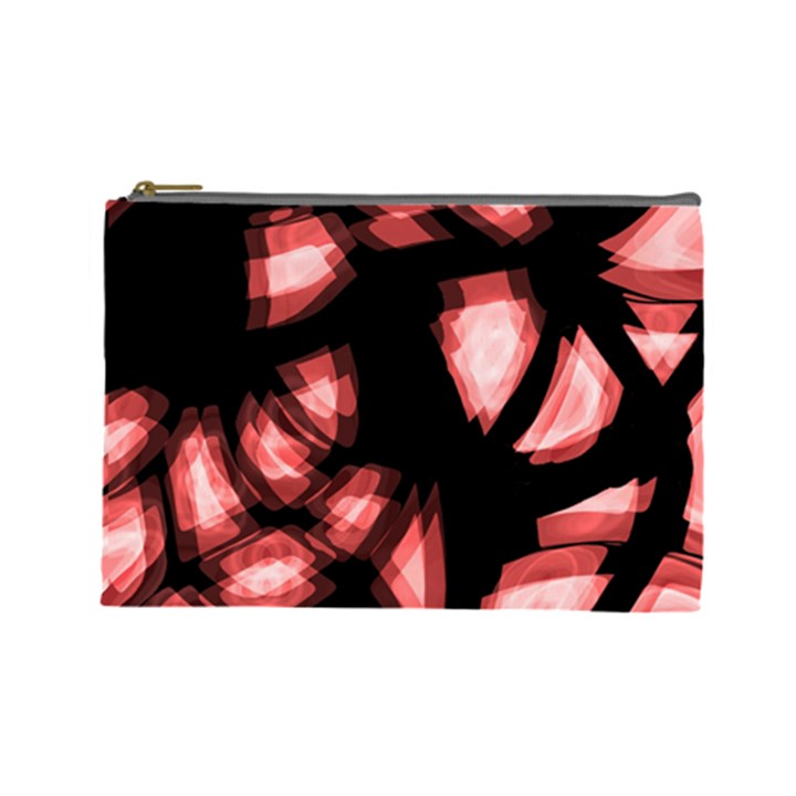 Red light Cosmetic Bag (Large)
