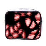 Red light Mini Toiletries Bags Front