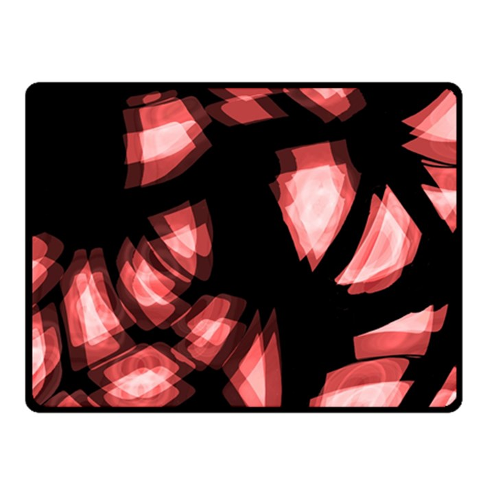 Red light Fleece Blanket (Small)