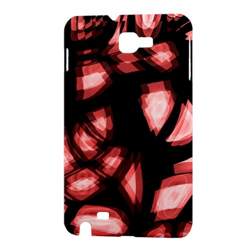 Red light Samsung Galaxy Note 1 Hardshell Case