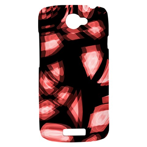 Red light HTC One S Hardshell Case