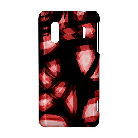 Red light HTC Evo Design 4G/ Hero S Hardshell Case