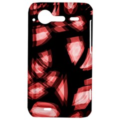 Red light HTC Incredible S Hardshell Case