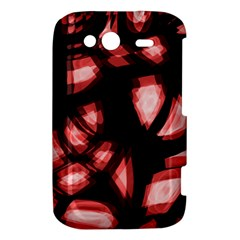 Red light HTC Wildfire S A510e Hardshell Case