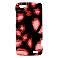 Red light HTC One V Hardshell Case