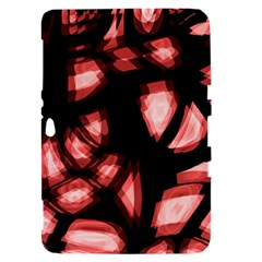 Red light Samsung Galaxy Tab 8.9  P7300 Hardshell Case
