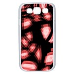 Red light Samsung Galaxy S III Case (White) Front