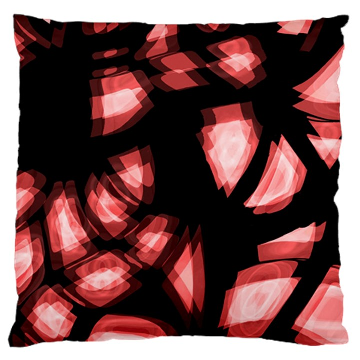 Red light Large Cushion Case (One Side)