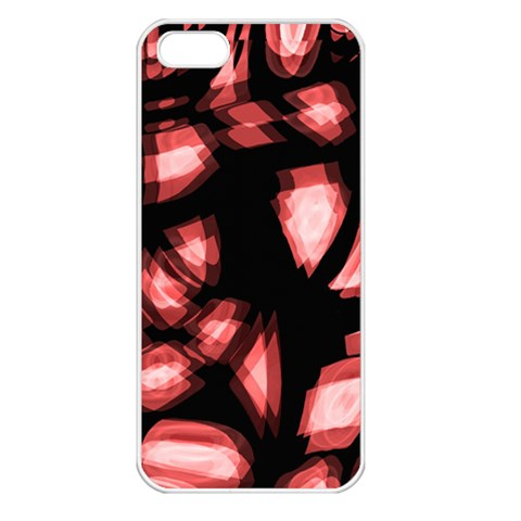 Red light Apple iPhone 5 Seamless Case (White)