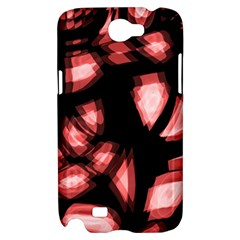 Red light Samsung Galaxy Note 2 Hardshell Case
