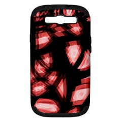 Red Light Samsung Galaxy S Iii Hardshell Case (pc+silicone)