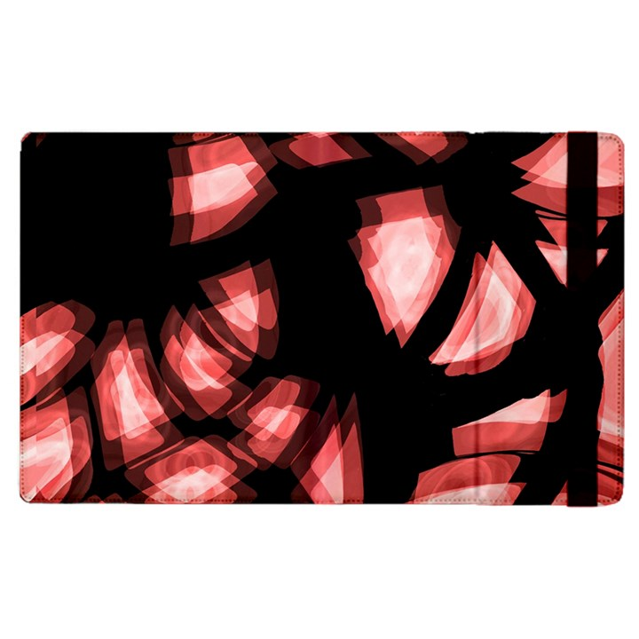 Red light Apple iPad 3/4 Flip Case