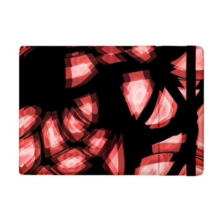 Red light Apple iPad Mini Flip Case