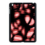 Red light Apple iPad Mini Case (Black) Front