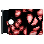 Red light Apple iPad 2 Flip 360 Case Front