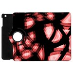 Red light Apple iPad Mini Flip 360 Case Front