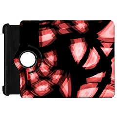 Red Light Kindle Fire Hd Flip 360 Case