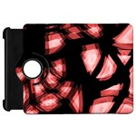 Red light Kindle Fire HD Flip 360 Case Front