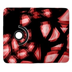 Red light Samsung Galaxy Note II Flip 360 Case