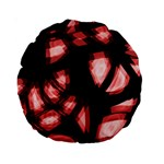 Red light Standard 15  Premium Round Cushions Front