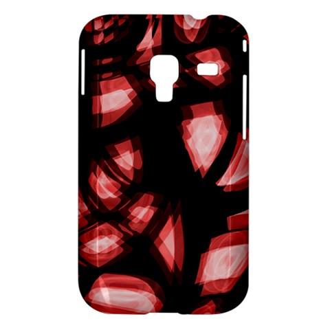 Red light Samsung Galaxy Ace Plus S7500 Hardshell Case
