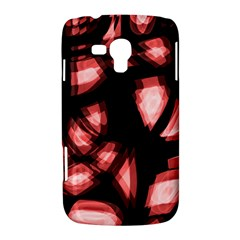 Red light Samsung Galaxy Duos I8262 Hardshell Case