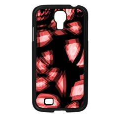 Red light Samsung Galaxy S4 I9500/ I9505 Case (Black)