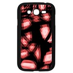 Red light Samsung Galaxy Grand DUOS I9082 Case (Black) Front