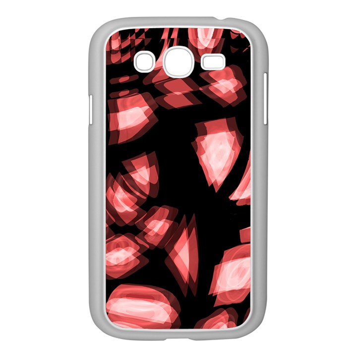 Red light Samsung Galaxy Grand DUOS I9082 Case (White)