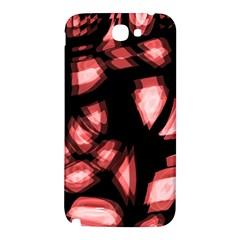 Red light Samsung Note 2 N7100 Hardshell Back Case