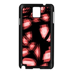 Red light Samsung Galaxy Note 3 N9005 Case (Black)