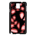 Red light Samsung Galaxy Note 3 N9005 Case (Black) Front