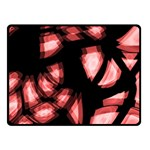 Red light Double Sided Fleece Blanket (Small)  50 x40 Blanket Back