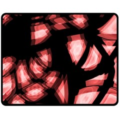 Red Light Double Sided Fleece Blanket (medium)
