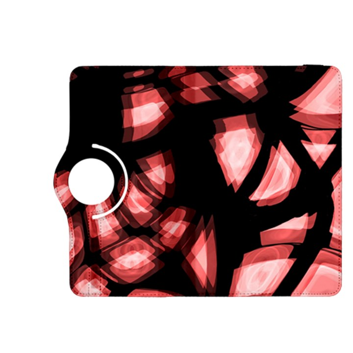 Red light Kindle Fire HDX 8.9  Flip 360 Case