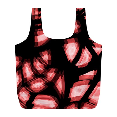Red light Full Print Recycle Bags (L)