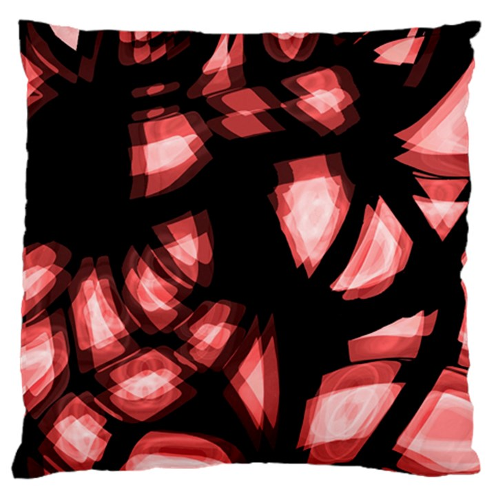 Red light Standard Flano Cushion Case (One Side)