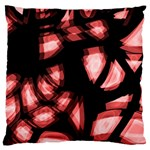 Red light Large Flano Cushion Case (One Side) Front