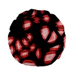 Red light Standard 15  Premium Flano Round Cushions Back