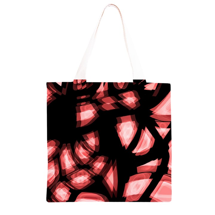 Red light Grocery Light Tote Bag