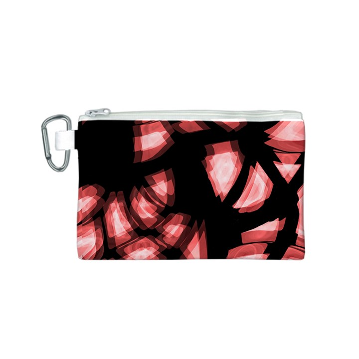 Red light Canvas Cosmetic Bag (S)