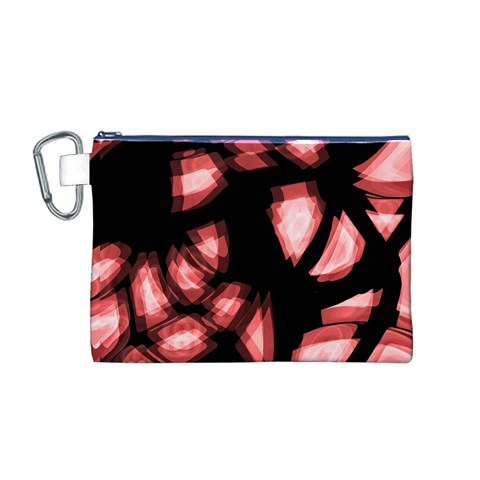 Red light Canvas Cosmetic Bag (M)
