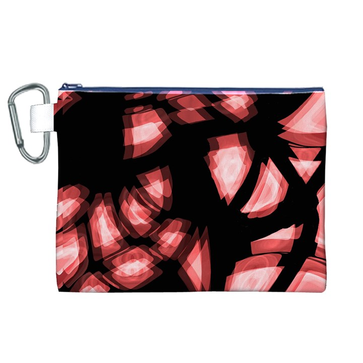 Red light Canvas Cosmetic Bag (XL)